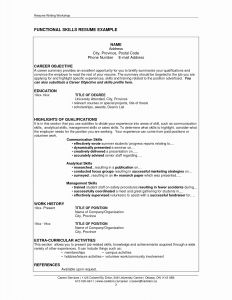 Marshall Resume Template - General Resume Objectives Statements Great Resume Objective