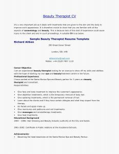 Massage Resume Template - Rehabilitation Massage therapy Paper Massage therapy Resume Fresh