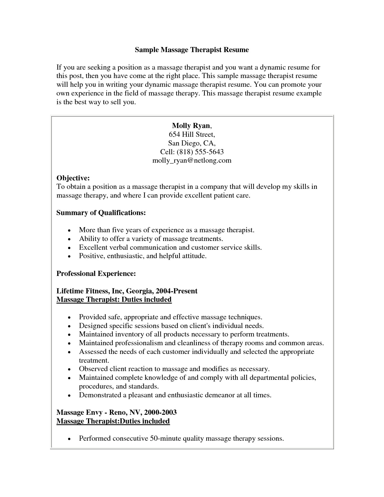 massage therapist resume template Collection-Massage therapist Resume Example Beautiful Massage therapist Resume Sample Massage therapist Resume Sample Massage therapist 17-l