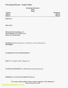 Med School Resume Template - Sample Resume for Teenager First Job Reference Resume Templates