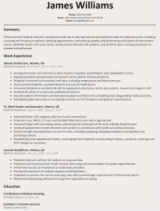 Medical assistant Resume Template Free - Free Basic Resume Template Free Resume Template for Microsoft