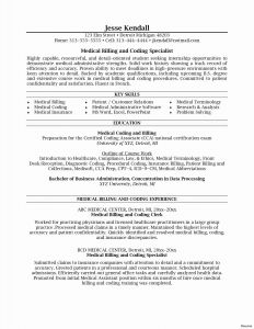 Medical Coder Resume Template - Medical Billing Job Description for Resume Free Downloads Medical