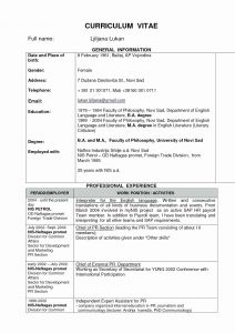 Medical School Resume Template - Resume for Medical School Beautiful Word Template for Resume New