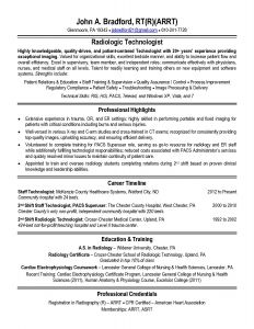 Medical Technologist Resume Template - Radiologic Technologist Resume Templates Inspirational Radiologic