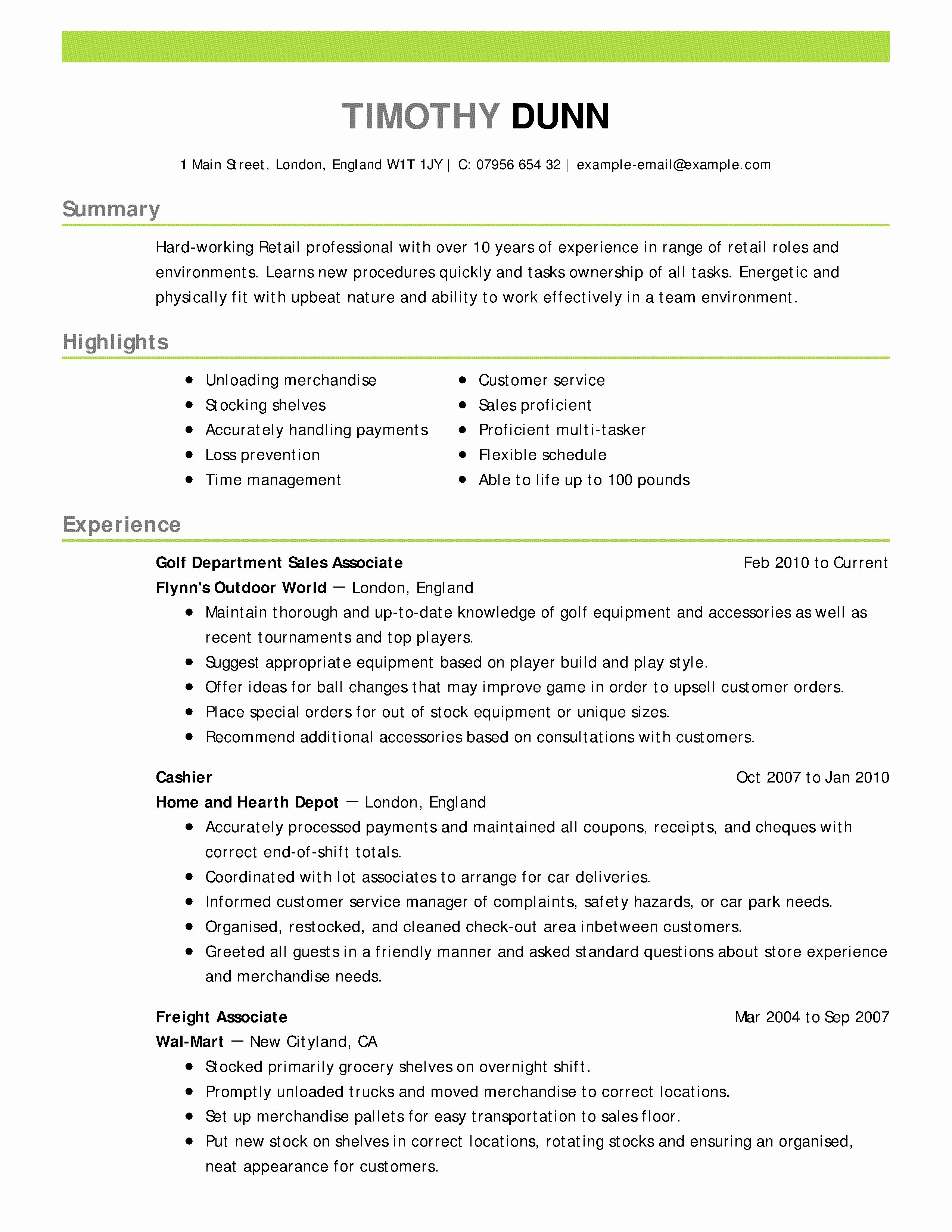 8 modeling resume template examples