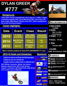 Motocross Sponsorship Resume Template - Resume Objective for Sales Sales Resumes Examples Luxury Resume
