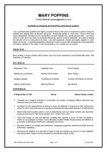 Nanny Resume Template - Nanny Resume Examples Luxury Beautiful Nanny Duties Resume Fresh