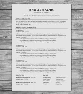 Nursing Resume Template 2016 - 20 Awesome Resume Template Seek Free Resume Templates