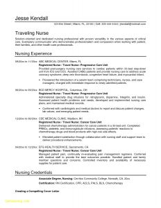 Nursing Resume Template Free Download - 60 Design Resume Writing Certification