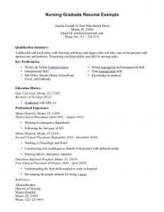 Nursing Resume Template Microsoft Word - Example Nursing Resume Unique Elegant New Nurse Resume Awesome Nurse