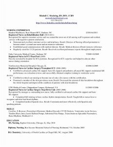 Nursing School Resume Template - Rn Bsn Resume Awesome Nurse Resume 0d Wallpapers 42 Beautiful Nurse