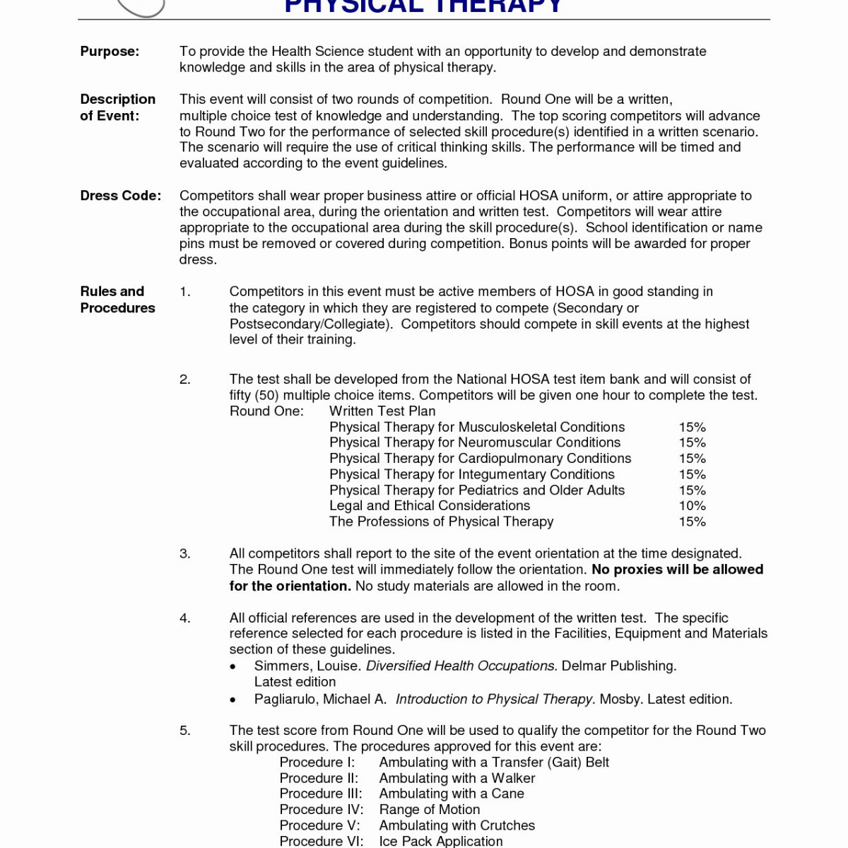 13 Occupational Therapy Resume Template Collection