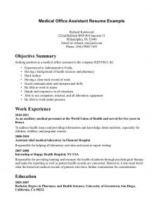 Office assistant Resume Template - Pin Oleh Jobresume Di Resume Career Termplate Free