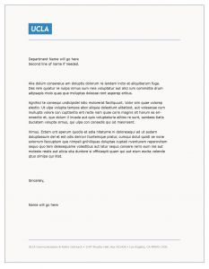 Open Office Resume Cover Letter Template - Cover Letter Template Ucla Cover Letter Template