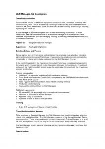 Operation Manager Resume Template - Operations Manager Cover Letter Template Samples