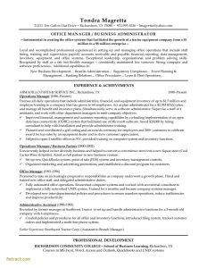 Operations Manager Resume Template - Resume Examples for Retail Fwtrack Fwtrack