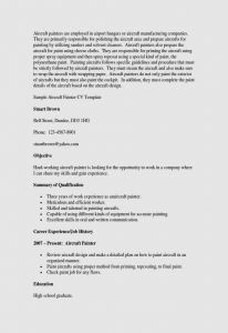 Painter Resume Template - Resume Template Zety Free Resume Templates