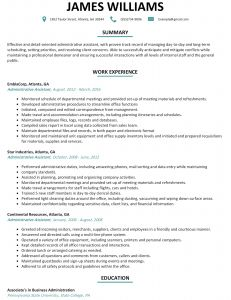 Penn State Resume Template - Career Builder Resume Template Find Jobs Careerbuilder Templates