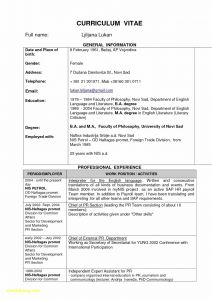 Performer Resume Template - Actor Resume Template Save Work Objective for Resume New Actor