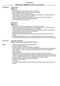Pipefitter Resume Template - Pipefitter Resume Example Nmdnconference Example Resume and
