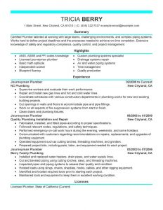 Pipefitter Resume Template - Pipefitter Resume Template Paragraphrewriter