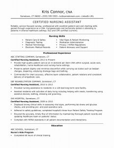 Pre Med Resume Template - Healthcare E Word or Two