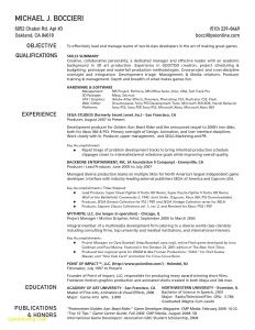 Production Resume Template - 42 Unbelievable Education Resume Template