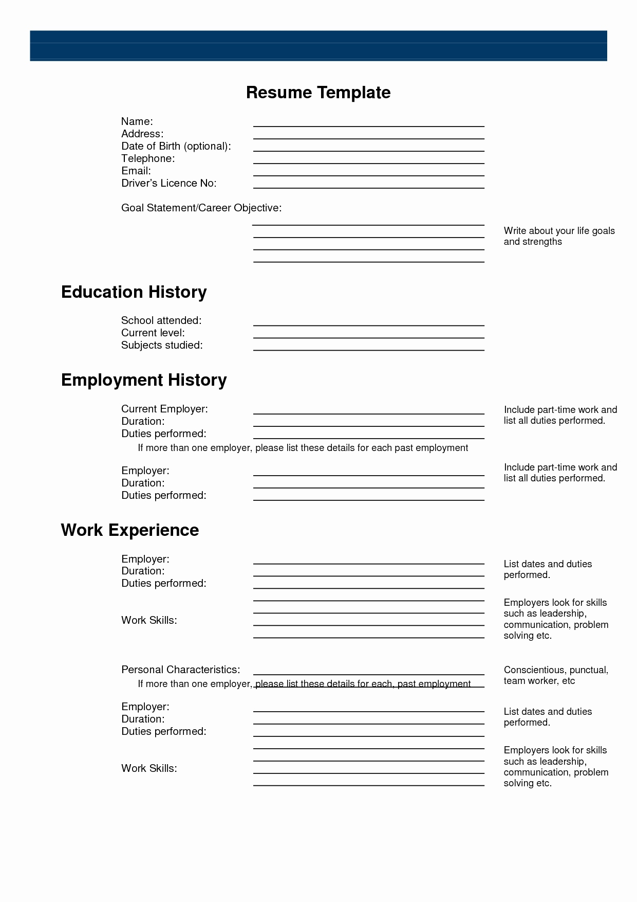 13 promotional model resume template collection