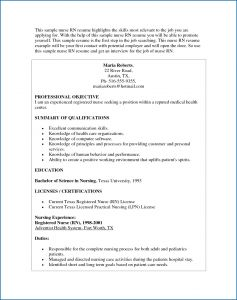 Public Health Resume Template - Nurse Resume Examples Best Nursing Resume Lovely Rn Bsn Resume