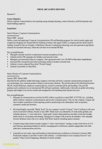 Public Relations Resume Template - Resume Template Zety Free Resume Templates