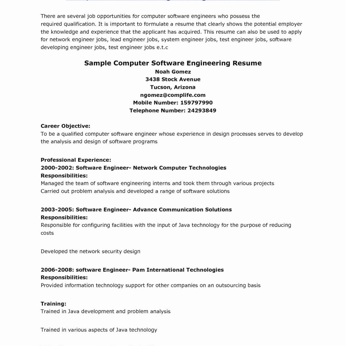 10 Qa Lead Resume Template Collection   Resume Ideas