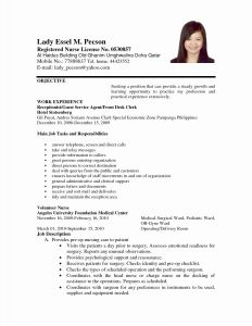 Recruiter Resume Template - Free Resume Sample New Professional Powerpoint Examples Resumes