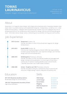 Responsive Resume Template Free Download - Like the Dotted Time Line and the Layout Breaks Less Sure Of the