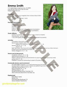Resume Entry Level Template - Swimming Certificate Templates Free Awesome Fix My Resume Luxury