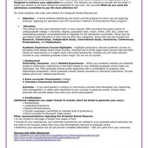 Resume for Graduate School Admission Template - Elegant Grad School Cover Letter