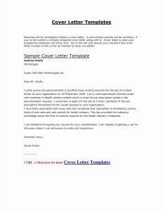 Resume Template Acting - Sample Cover Letter for Job Beautiful Cfo Resume Template