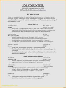 Resume Template Chef - Chef Resume Template Fresh How to Write A Job Resume Fresh 20
