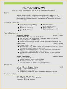 Resume Template Computer Science - Resume for A Server Server Skills Resume Fresh Skills for A Resume