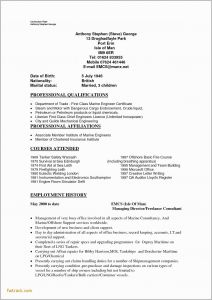 Resume Template Engineering - Mechanical Engineer Resume Template Fwtrack Fwtrack