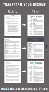 Resume Template Etsy - Etsy Resume Template Luxury Etsy Resume Template 165 Best Resume