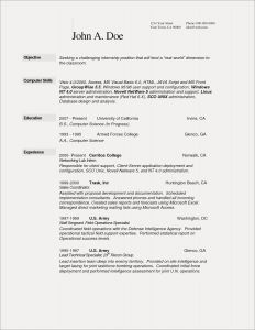 Resume Template for Computer Science - Sample Resume Pharmacist Save Pharmacy Tech Resume Template Fresh