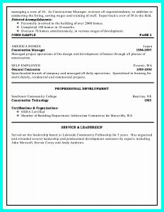 Resume Template for Construction Project Manager - Warehouse Job Description Resume Project Management Resume Sample
