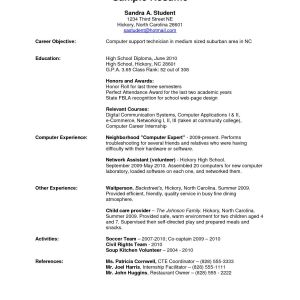 Resume Template for Fresh Graduate - Resume Templates High School New Unique Resume for Highschool