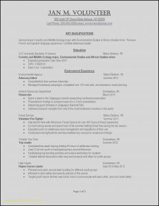 Resume Template for Fresh Graduate - 47 Fresh 2 Page Resume Examples Resume Templates Ideas 2018