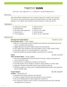 Resume Template for Hvac Technician - Hvac Resume Samples Inspirational 22 Lovely Hvac Technician Resume