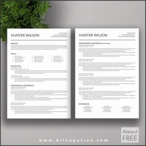 Resume Template for Mac Pages - Mac Pages Resume Templates Luxury Resume Templates Mac Free Free