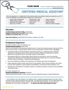 Resume Template for Medical assistant - Resume Templates Medical assistant Resume Templates Resume
