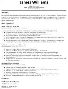 Resume Template for Medical assistant - 50 Concepts Resume Examples for Medical assistant