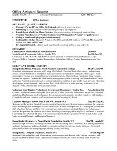 Resume Template for Office Administrator - It Manager Resume Template Free Professional Resume Templates
