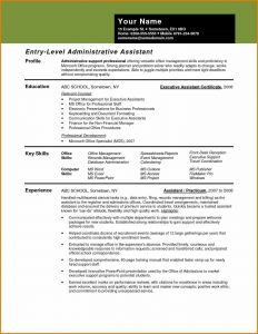 Resume Template for Office assistant - Reference Resume Template for Administrative assistant Vcuregistry
